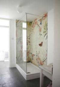 baskılı duşakabin banyo fayansları