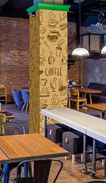 Cafe Restaurant Tile Models