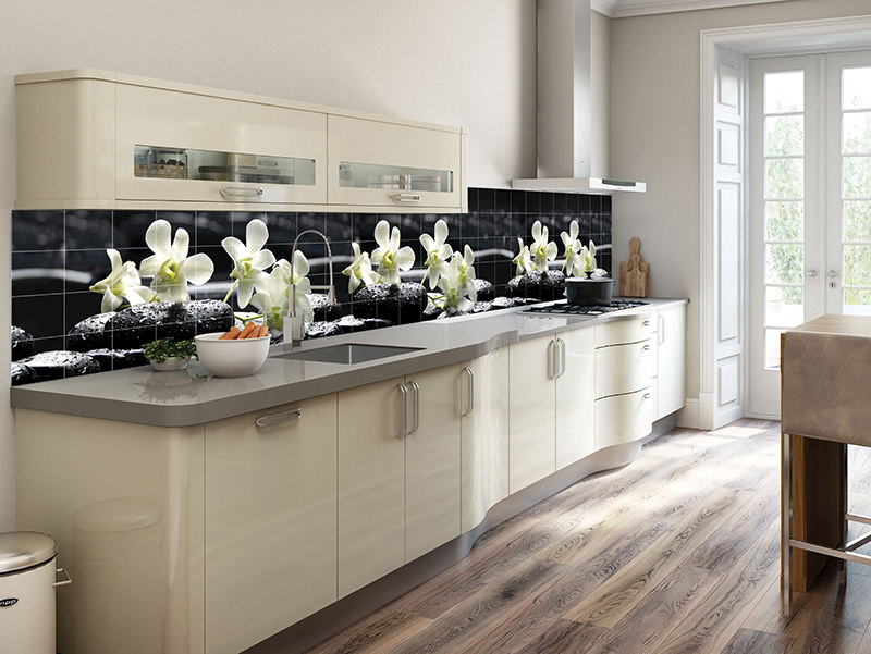 You can reach the kitchen backsplash tiles in your own kitchen can be created by yourself with one of the most convenient place to visual use. You can make your kitchen to your dinner against Manhattan bridge as you can transform a flower garden.