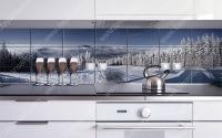 İskandinav mutfak fayans modellerinde genellikle beyaz renklerin hakimiyeti dikkat çekmektedir. Sizde beyaz tonlu resimleriniz ile mükemmel baskılı İskandinav mutfak fayans modellerine kavuşabilirsiniz.