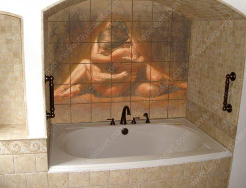 Kişiye Özel Baskılı Banyo Fayansları