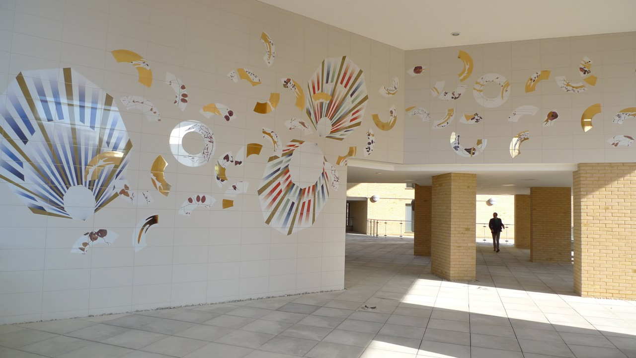 Printed Tiles in Architectural Projects