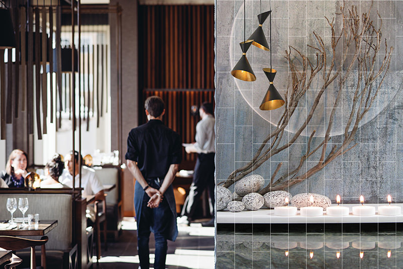 Printed Restaurant Tiles